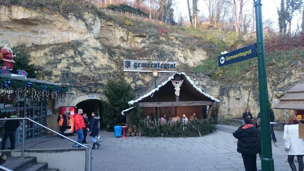 Eingang zur Gemeindegrotte Valkenburg