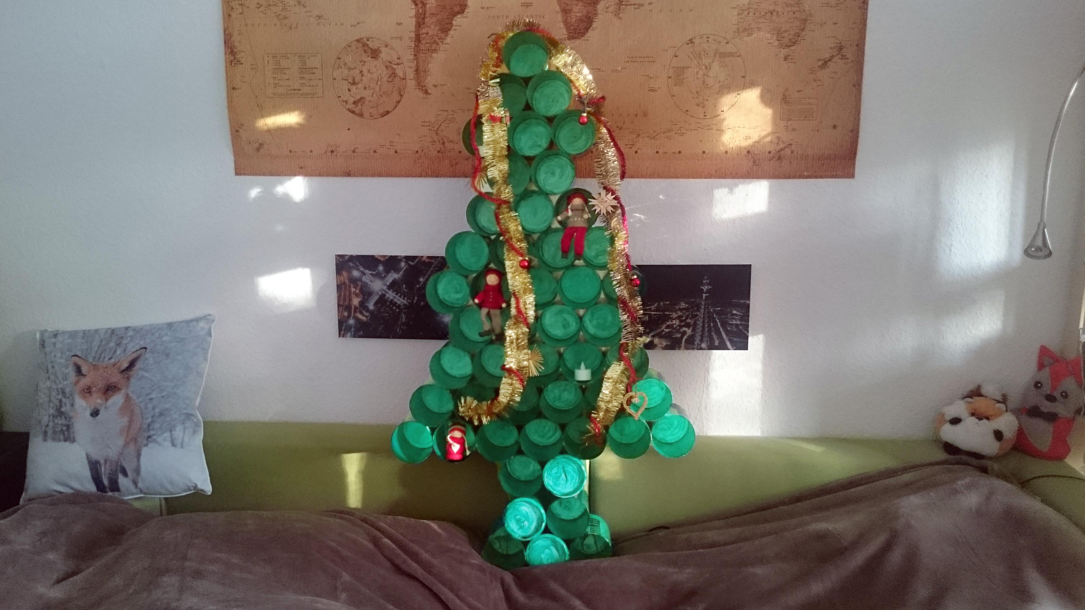 DIY: Der mymuesli Weihnachtsbaum