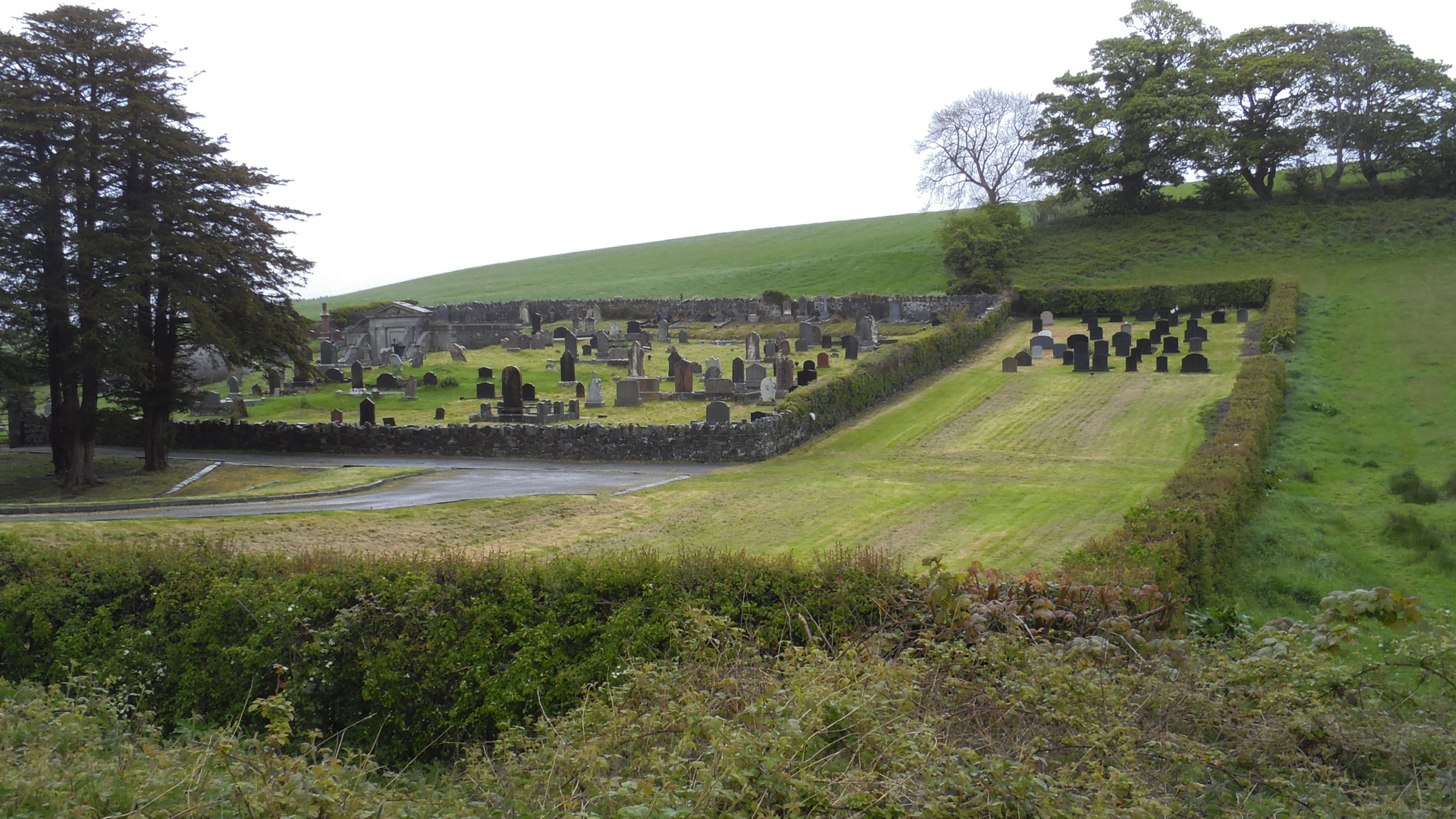 Friedhof Inch Abbey
