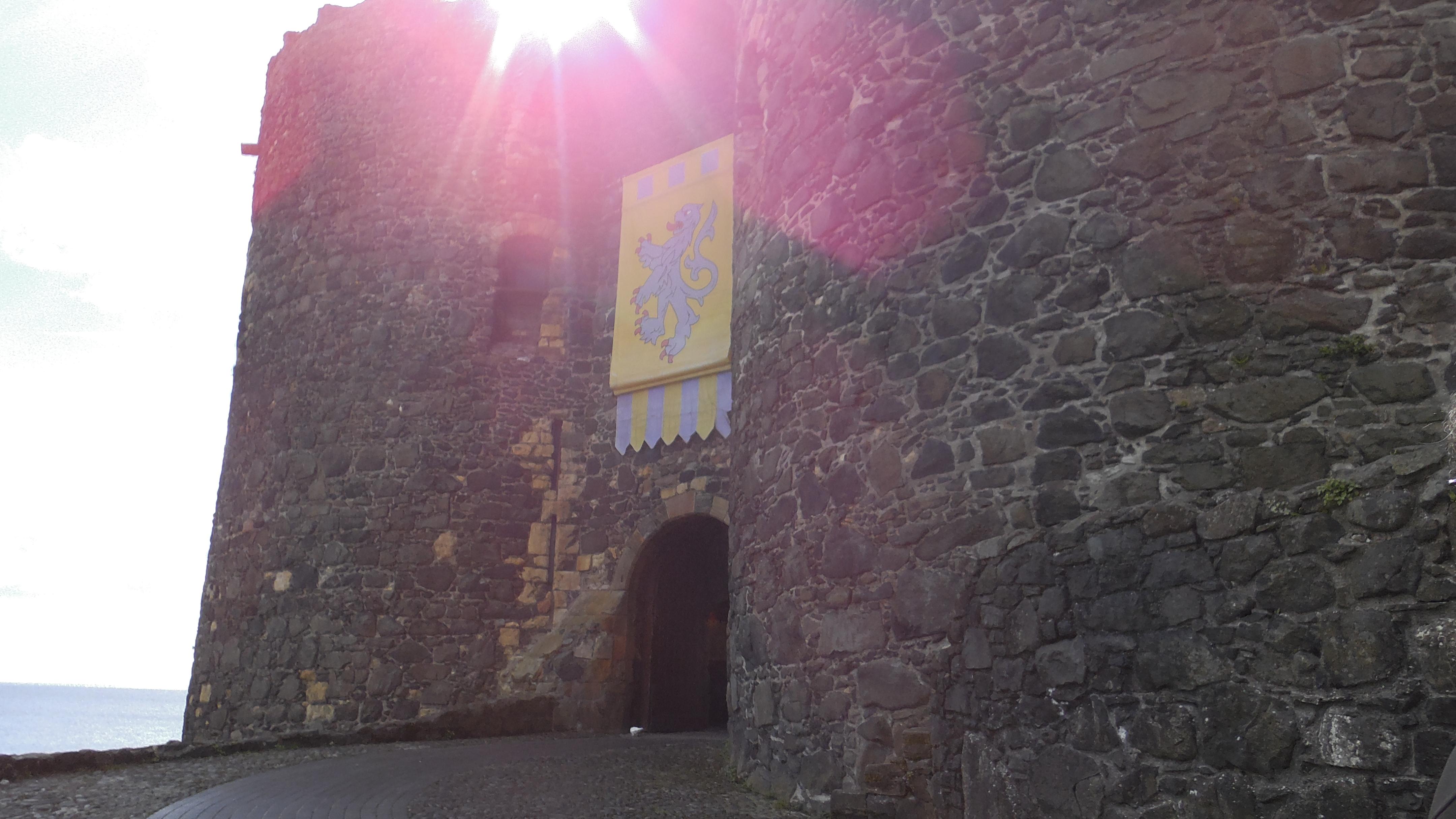 Eingang Castle Carrickfergus