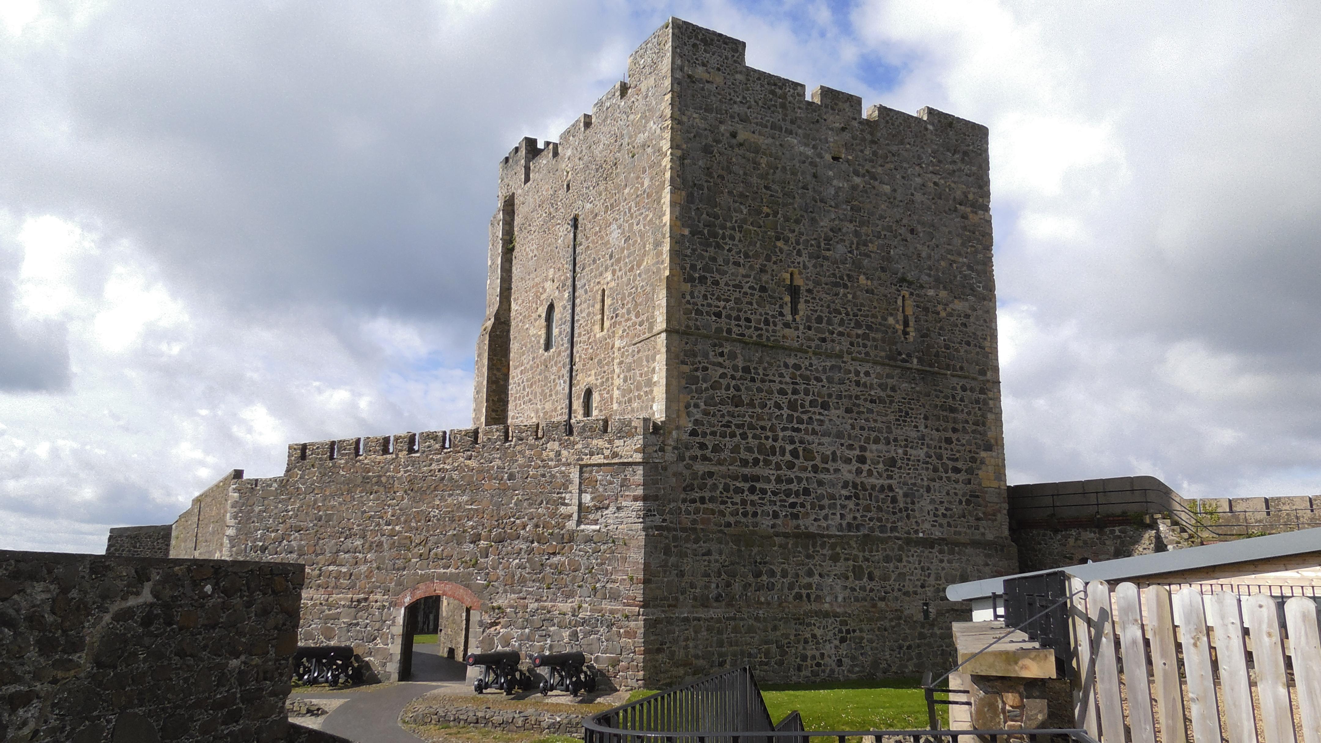 Burgfried Castle Carrickfergus