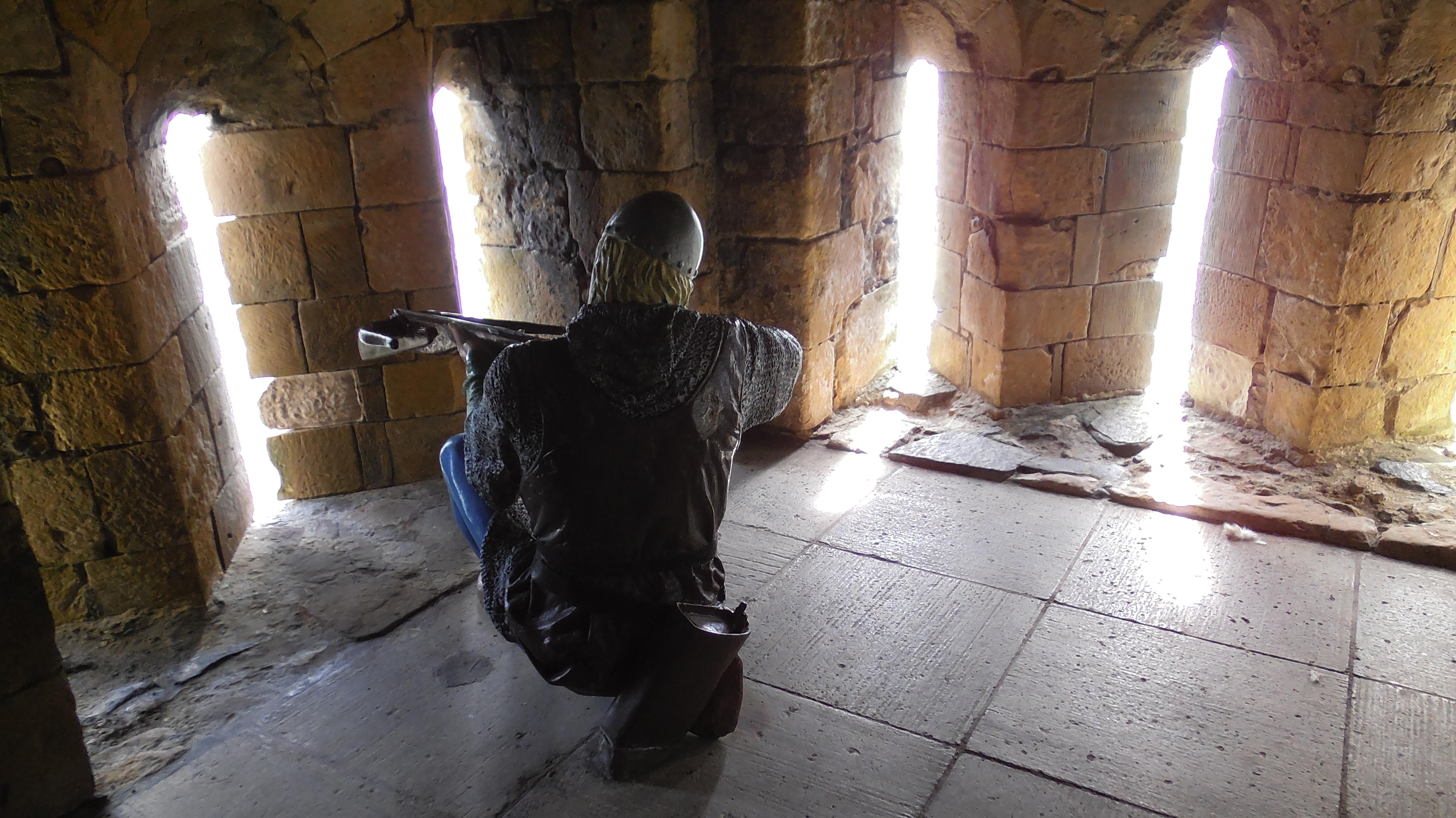 Armbrustschütze Castle Carrickfergus