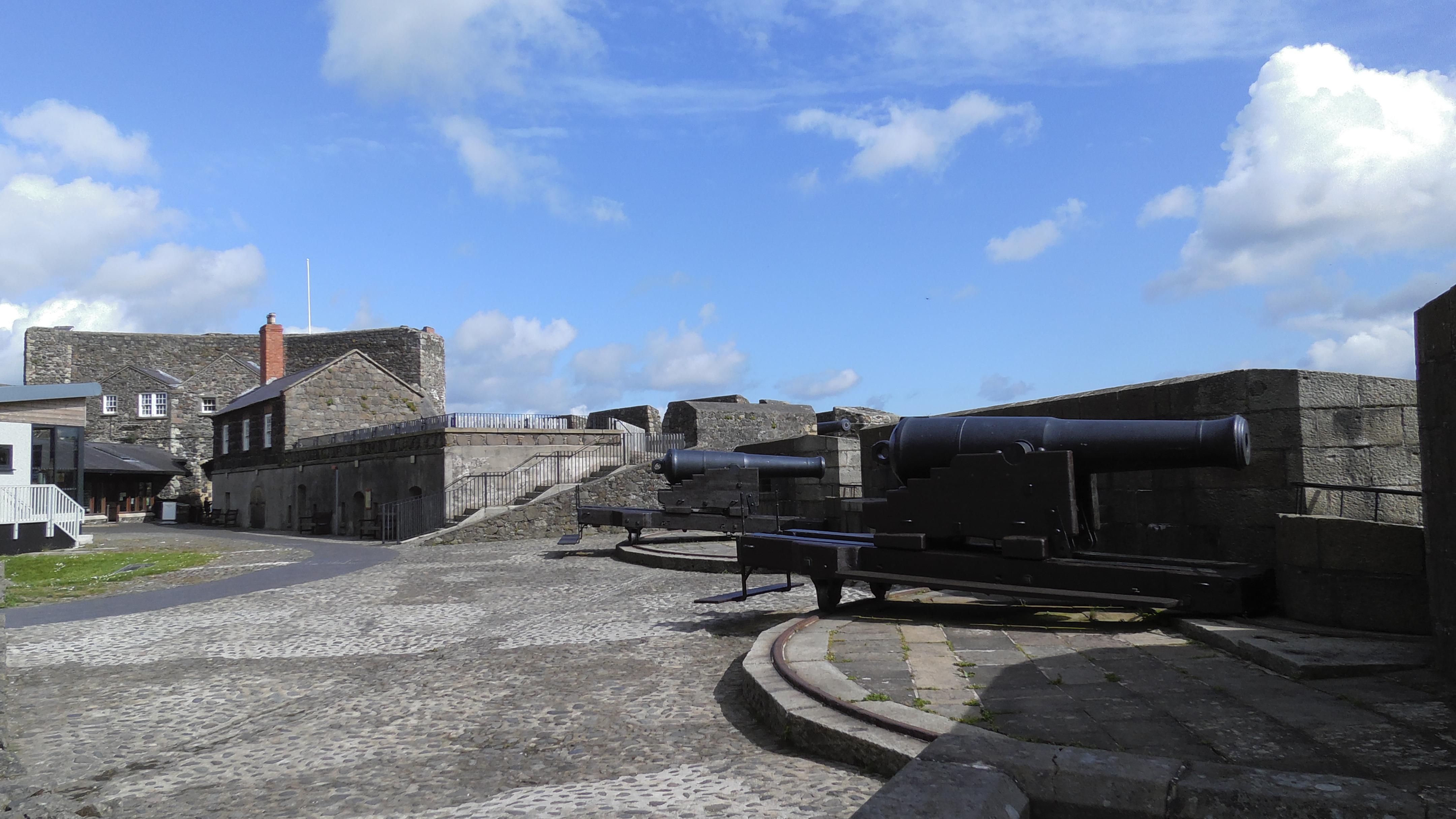 Kanonen Castle Carrickfergus