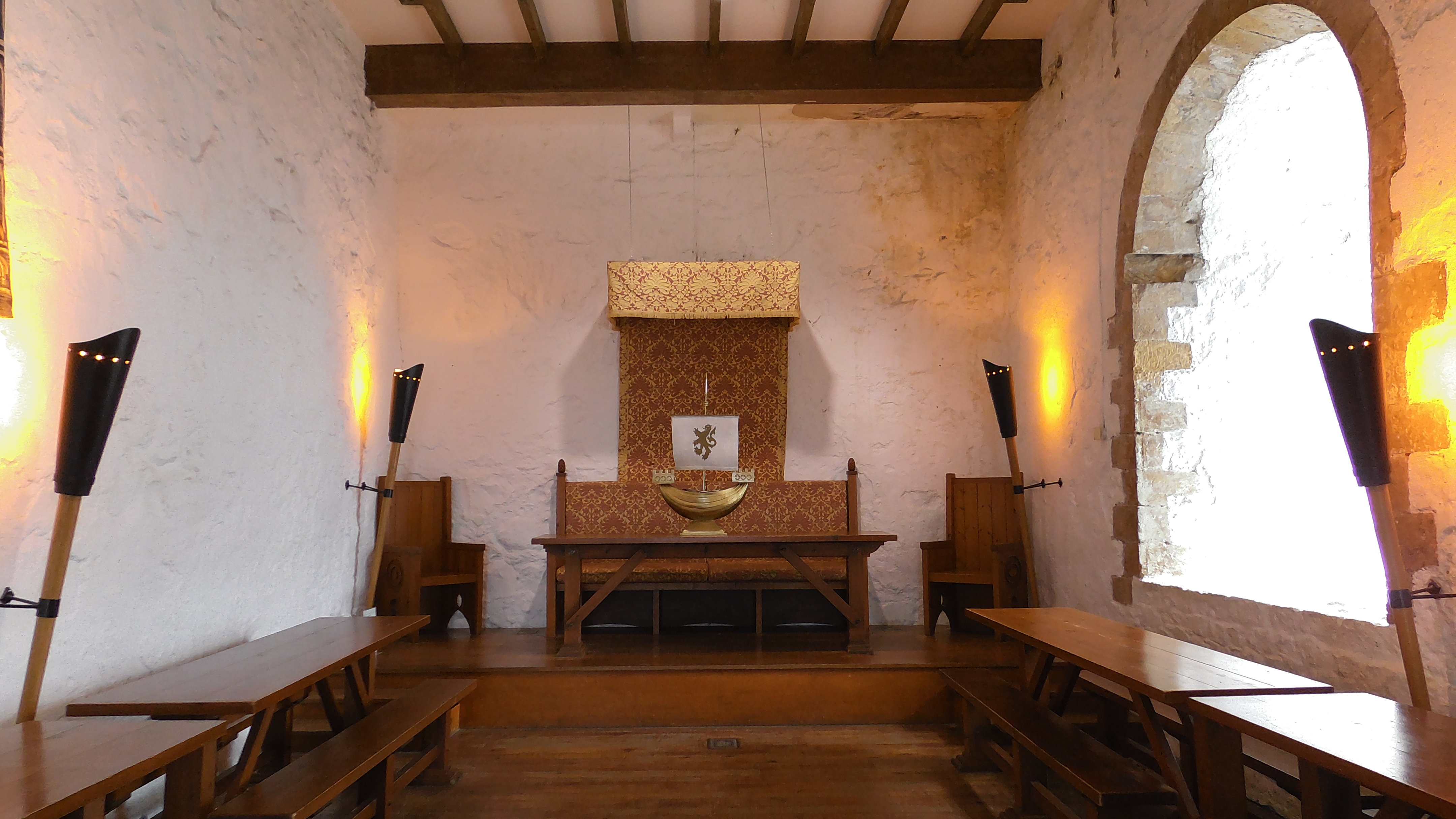 Empfangssaal Castle Carrickfergus