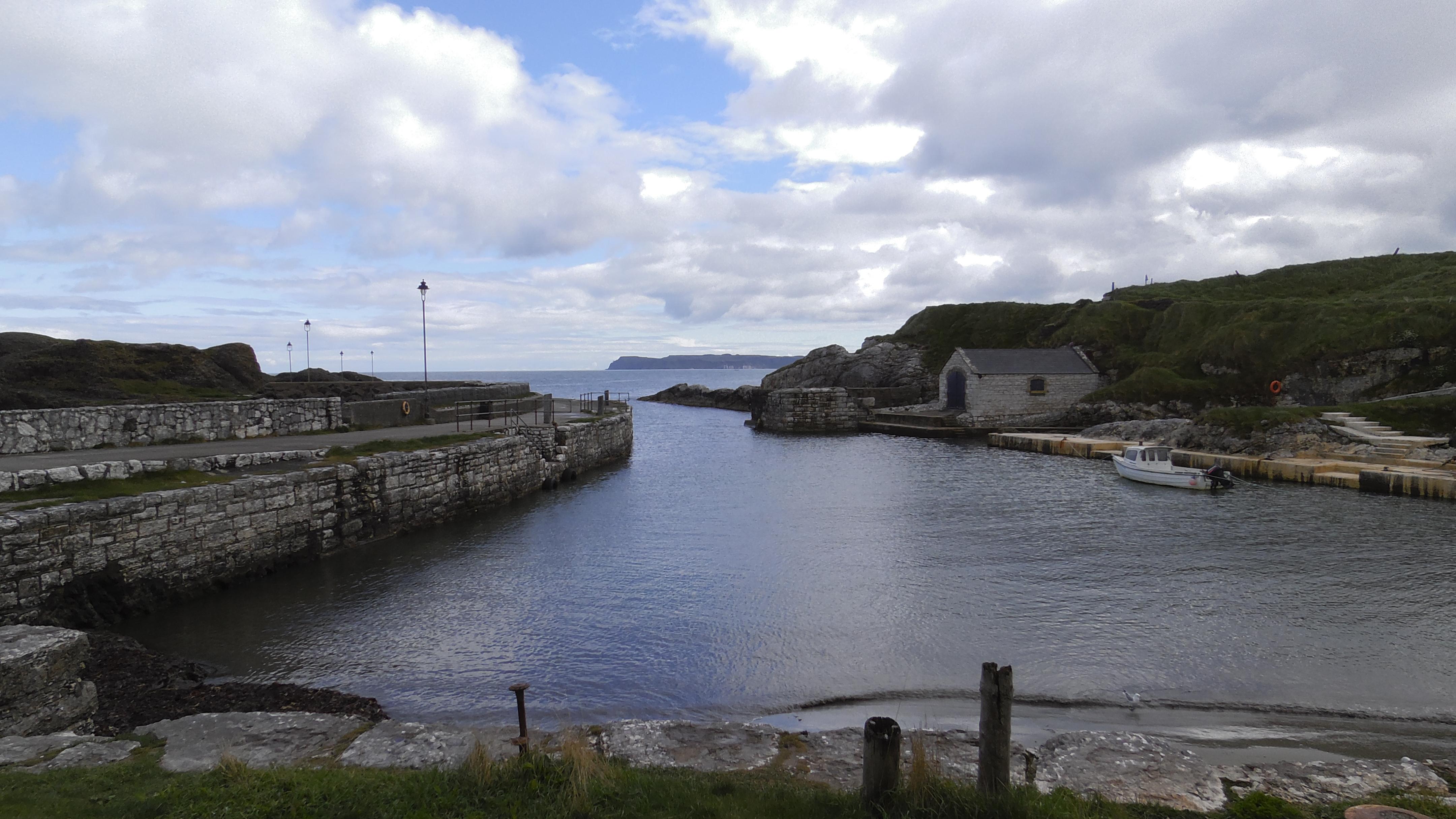 Ballintoy Harbour als Hafen von Peik