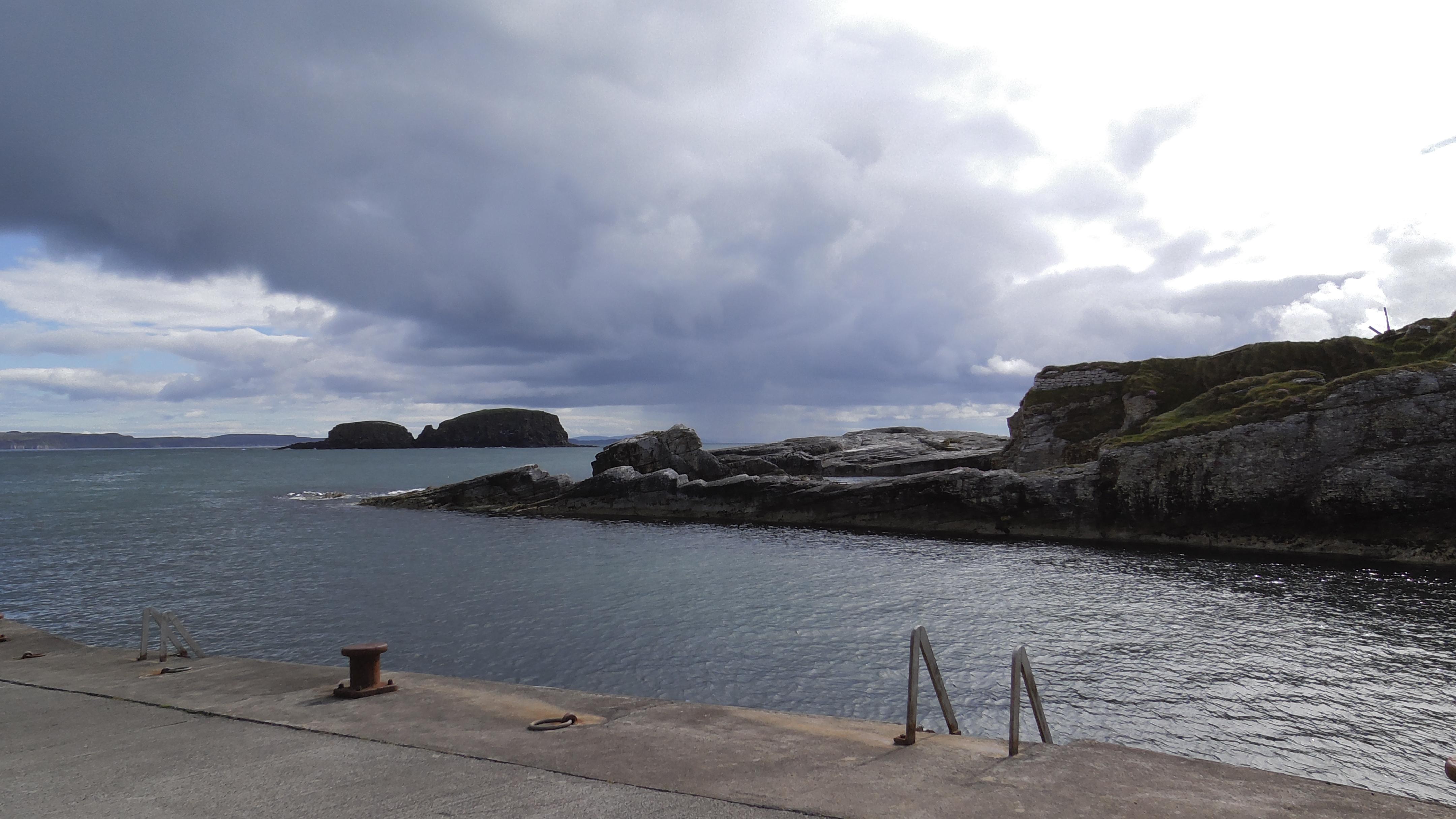 Hafen von Peik