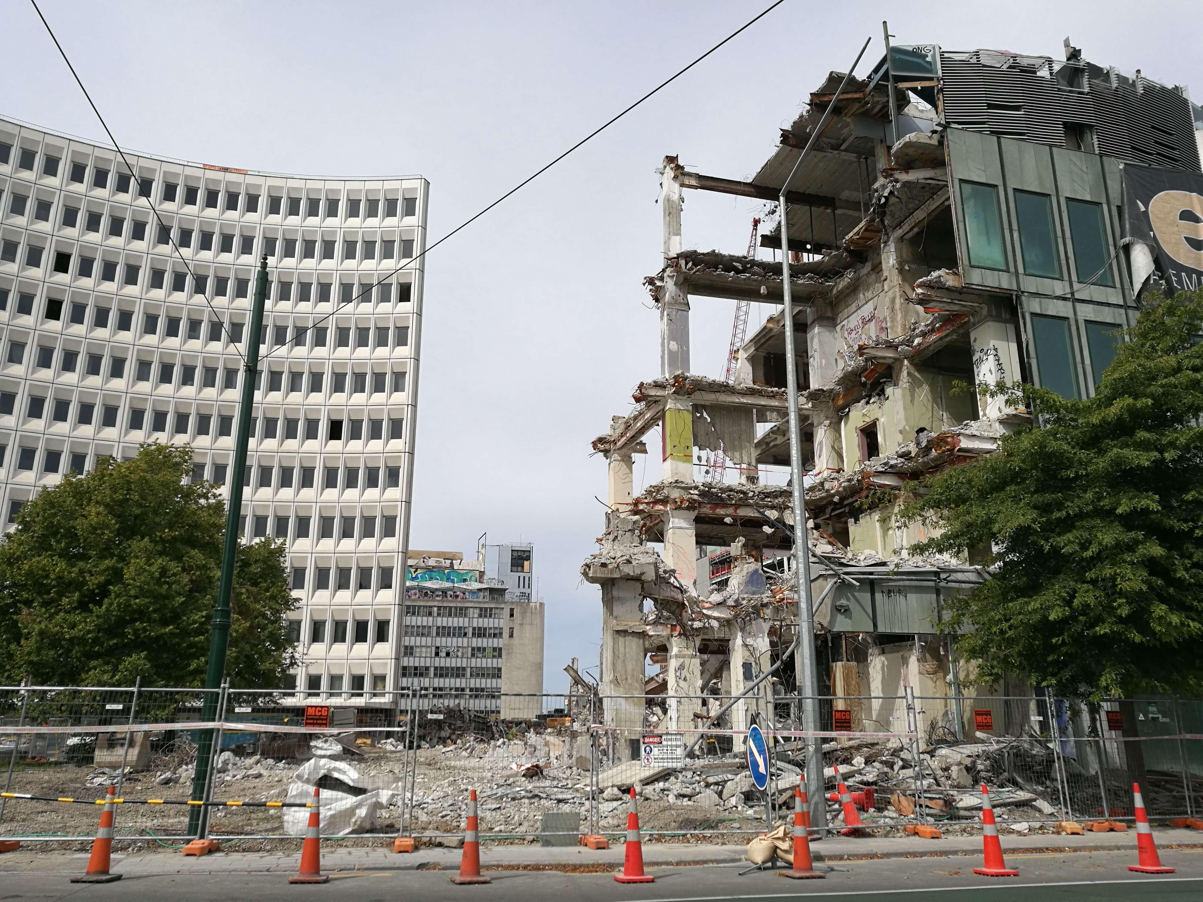 Erdbebenschäden