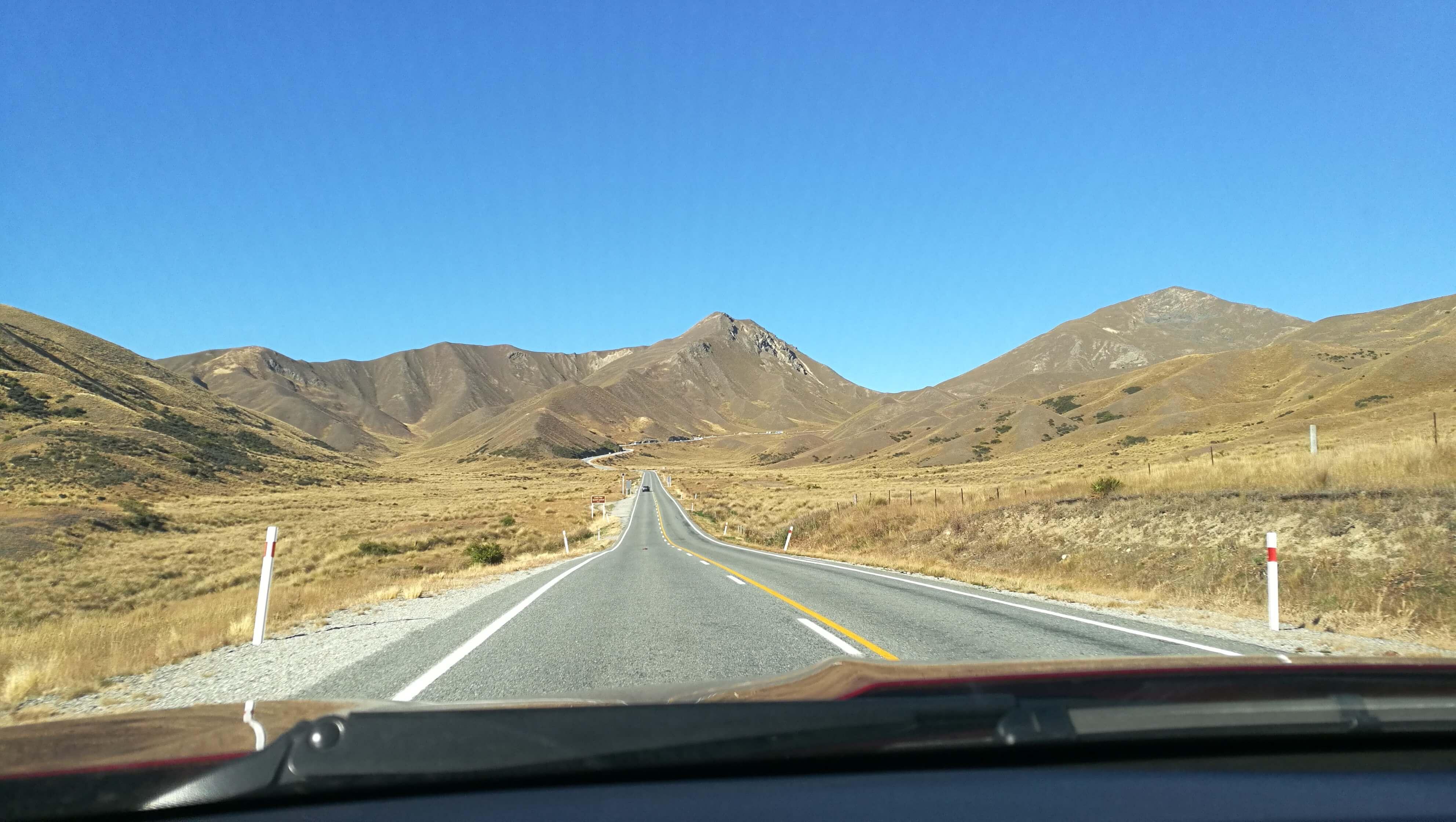 Road ins Nigendwo