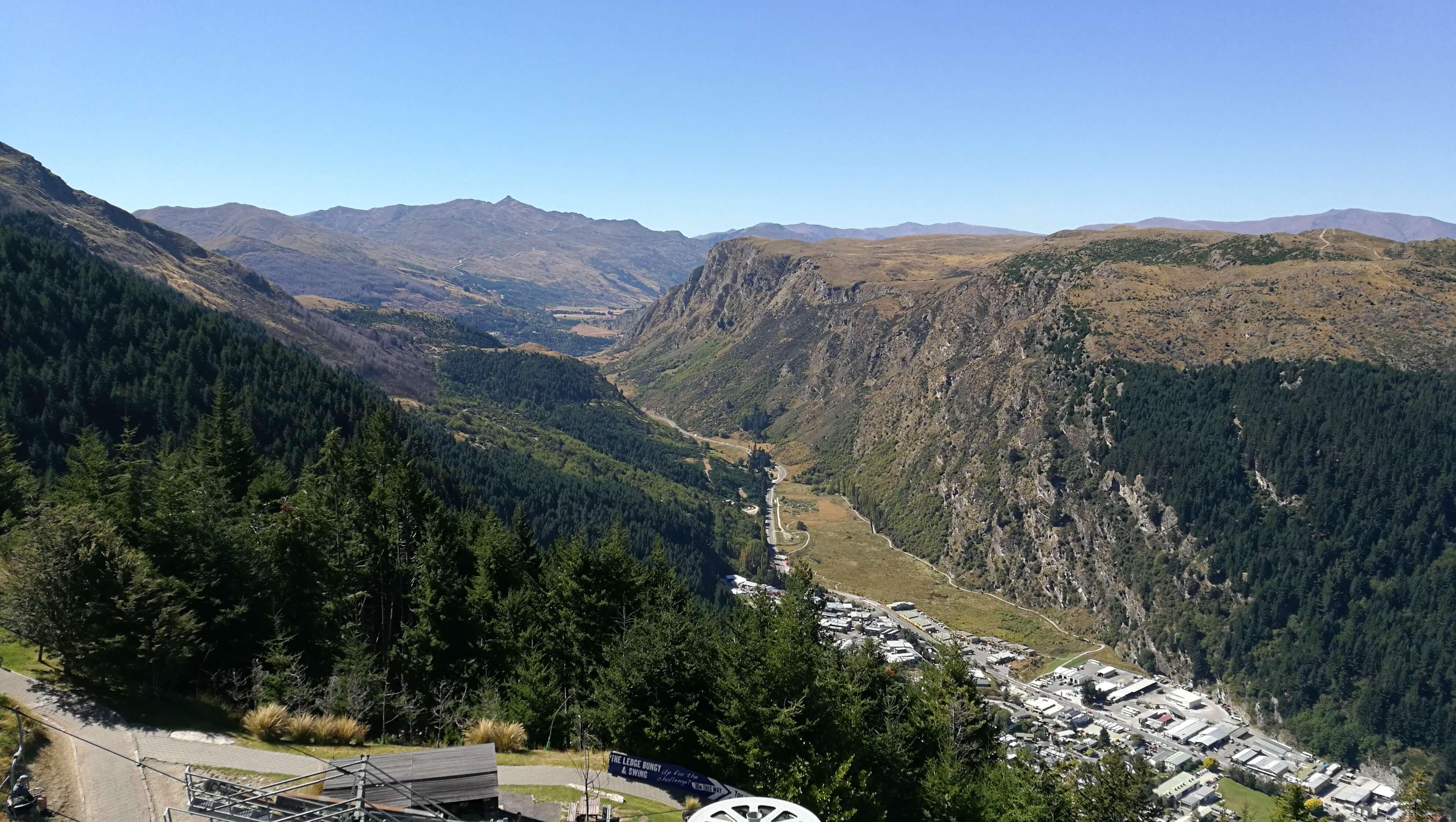 Ausblick Berggipfel