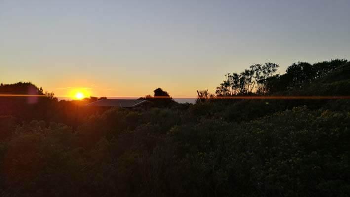 Sonnenuntergang Punakaiki
