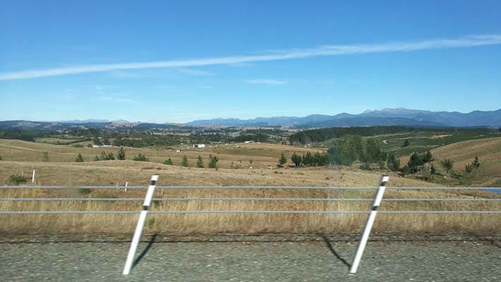 Fahrt zum Abel Tasman National Park